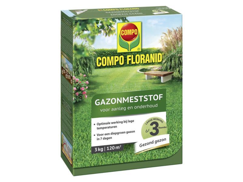 Compo Floranid engrais gazon aménagement & entretien 3kg