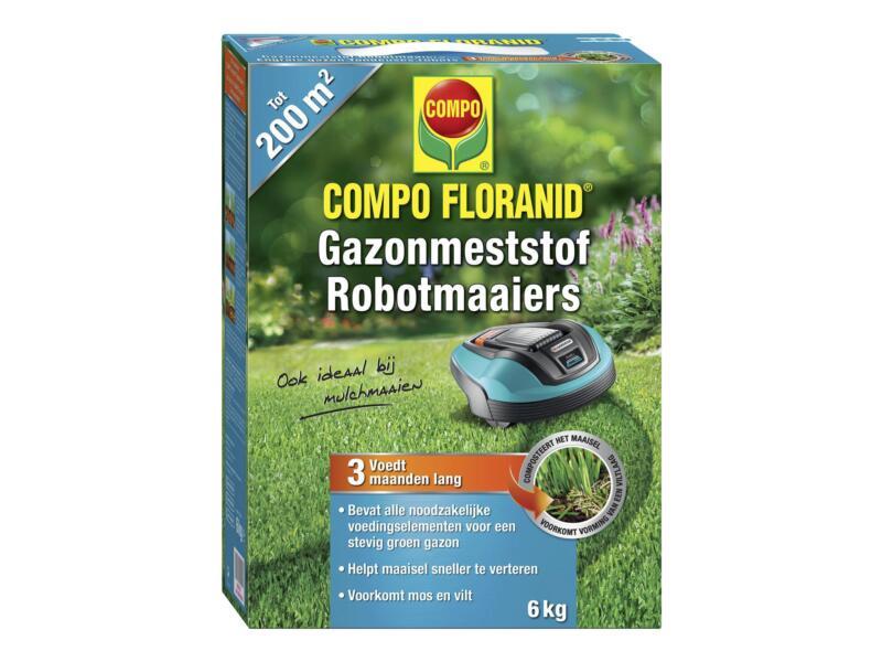 Compo Floranid gazonmeststof robotmaaiers 6kg