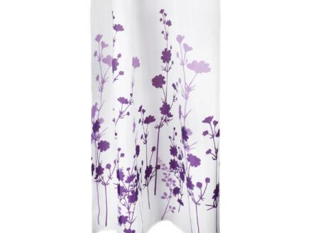 Differnz Folia douchegordijn 180x200 cm violet