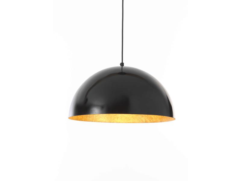 MEO Formia hanglamp E27 40W zwart/goud