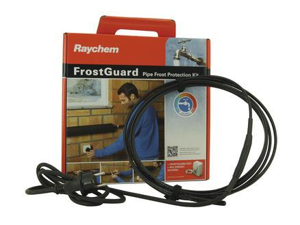 Frostguard  verwarmingskabel 4m zwart