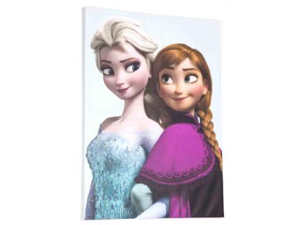 Disney Frozen Elsa & Anna canvasdoek 50x70 cm