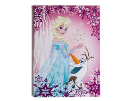 Disney Frozen Elsa & Olaf toile imprimée 50x70 cm