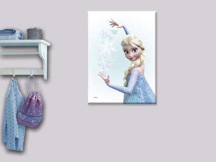Disney Frozen Elsa canvasdoek 50x70 cm