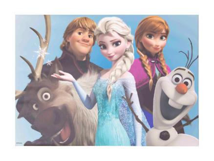 Disney Frozen toile imprimée 70x50 cm group hugg