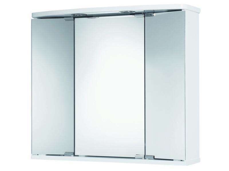 Jokey Funa spiegelkast 68cm 3 deuren wit