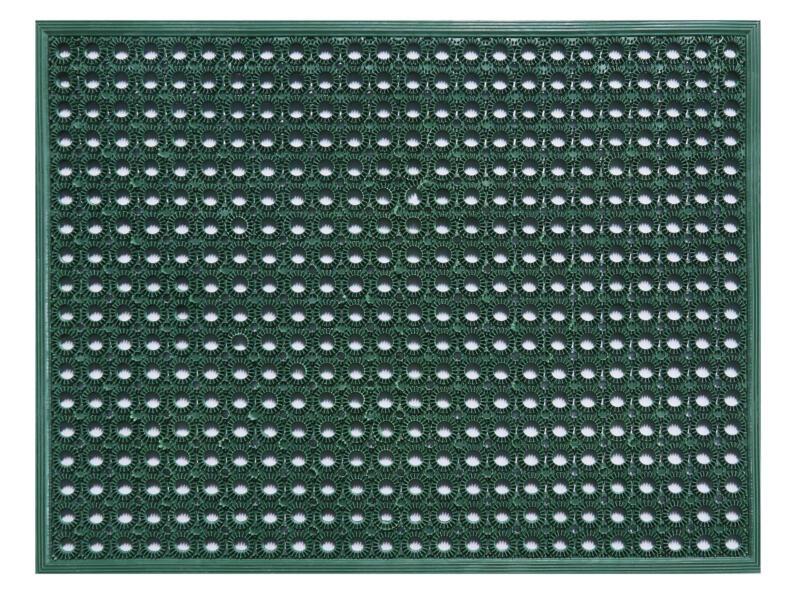 Funky rubbermat 48x62 cm groen