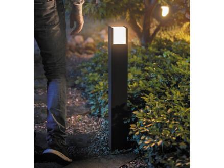 Philips Hue Fuzo LED tuinpaal 15W 83cm dimbaar zwart