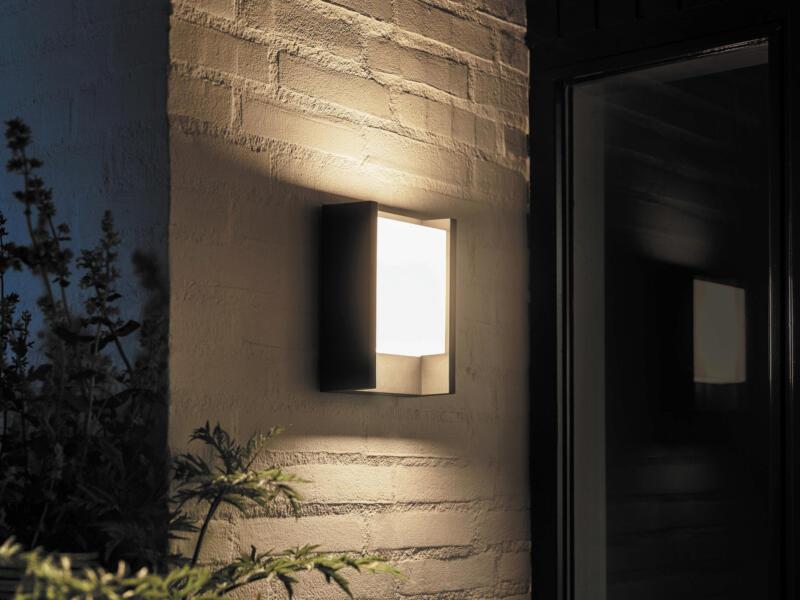 Hue Fuzo LED wandlamp 15W 27cm dimbaar zwart