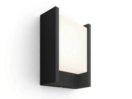 Philips Hue Fuzo LED wandlamp 15W 27cm dimbaar zwart