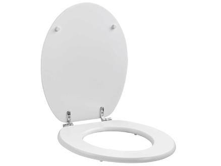 Allibert Gala abattant WC blanc