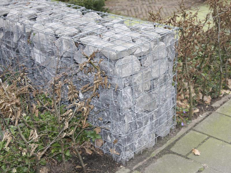 Giardino Garda steenkorf 50x50x50 cm met 80 krammen