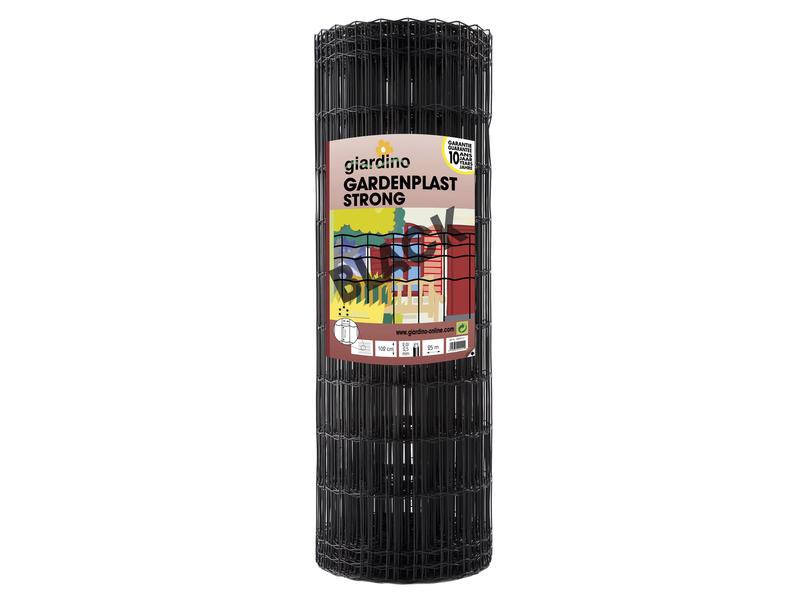 Giardino Gardenplast Strong grillage de jardin 25m 102cm noir