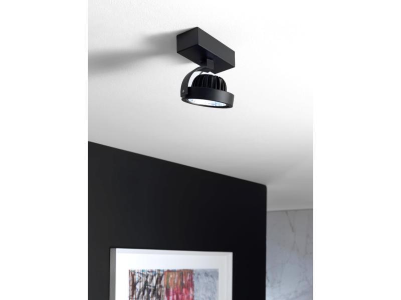 MEO Gattico plafondspot G53 12W zwart
