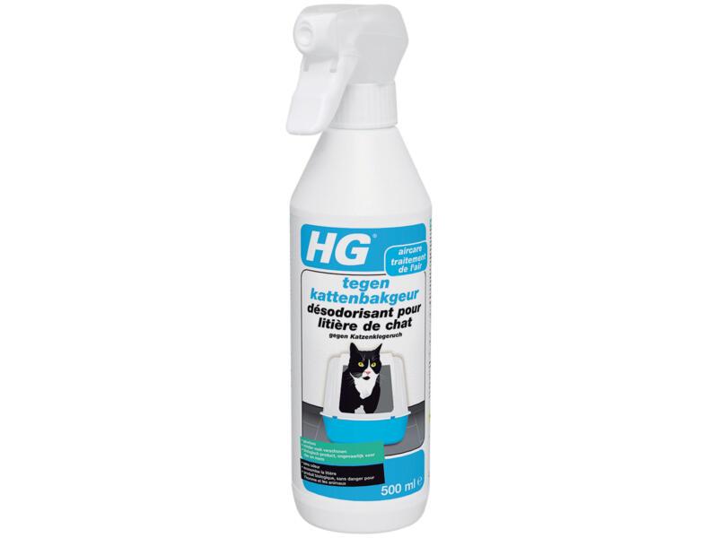 HG Geurverwijderaar kattenbak 500ml