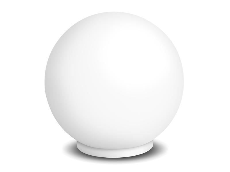iDual Glam lampe de table 8W 500lm + télécommande