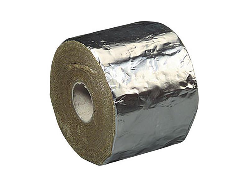 Griffon Glasstic montagetape 10m x 100mm aluminium