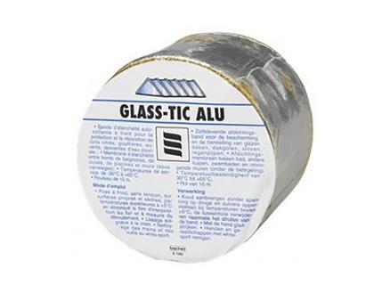 Griffon Glasstic ruban de réparation 10m x 5cm aluminium
