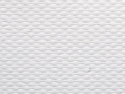 Glasweefsel voorgeschilderd 1x25 m ruit