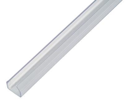 Profile Goulotte autocollante 9x8 mm 2m transparent