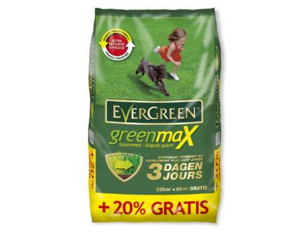Evergreen GreenMax engrais gazon 325m² + 20% gratuit