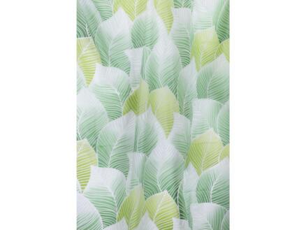 Differnz Greens rideau de douche 180x200 cm vert