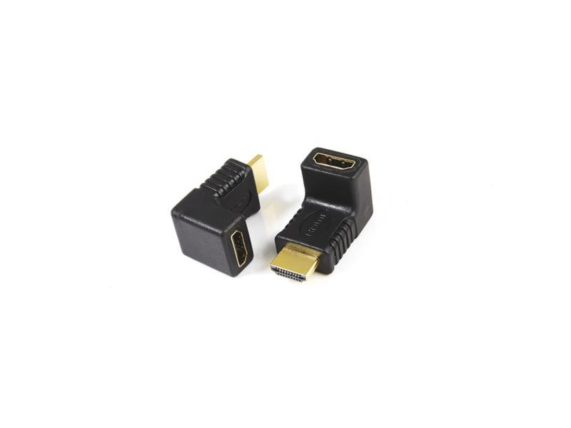 Profile HDMI adapter M-V haakse stekker 90°
