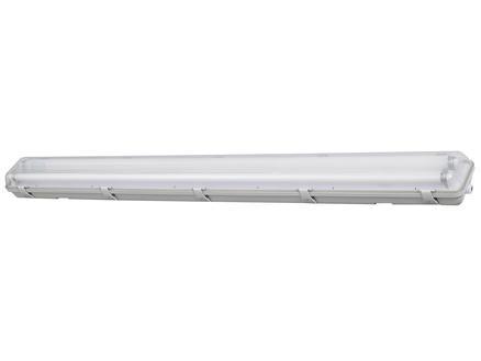 Profile HWD T8 armature LED TL G13 2x24W blanc froid étanche