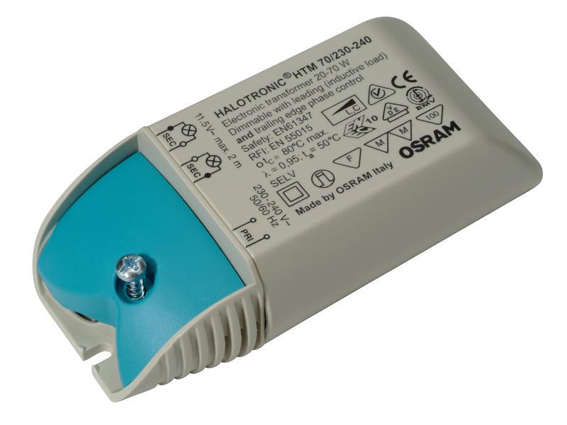Osram Halotronic HTM 70Va elektronische transformator 230V