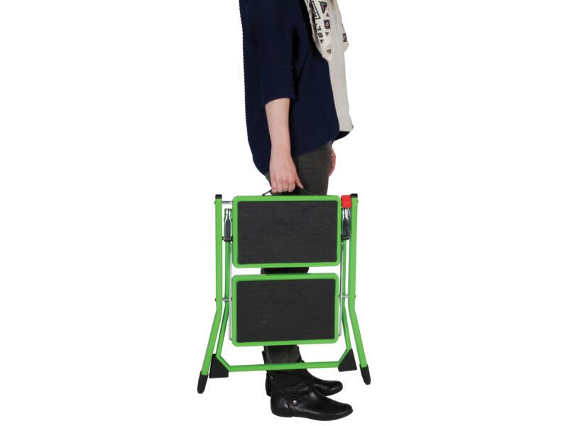 Escalo Handy opstapje 2 treden groen