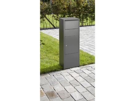 Practo Garden Hannover pakketbrievenbus staal mat grijs