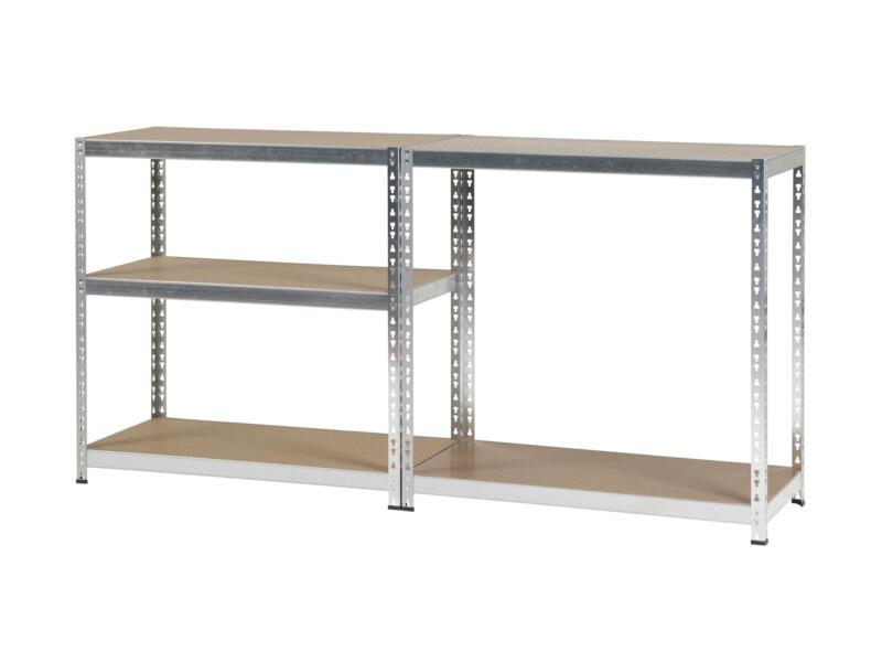 Practo Home Heavy Duty étagère 200x100x50 cm métal