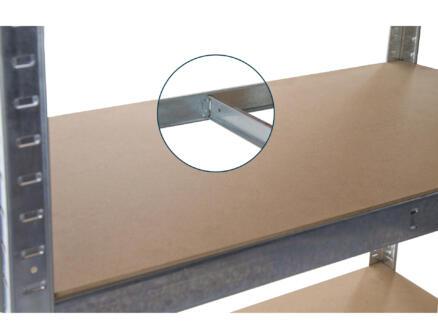 Practo Home Heavy Duty opbergrek 180x90x40 cm 875kg metaal