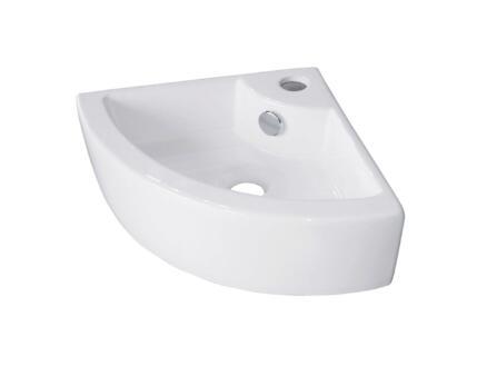 Van Marcke go Hera lave-mains d'angle 44x31,5 cm blanc