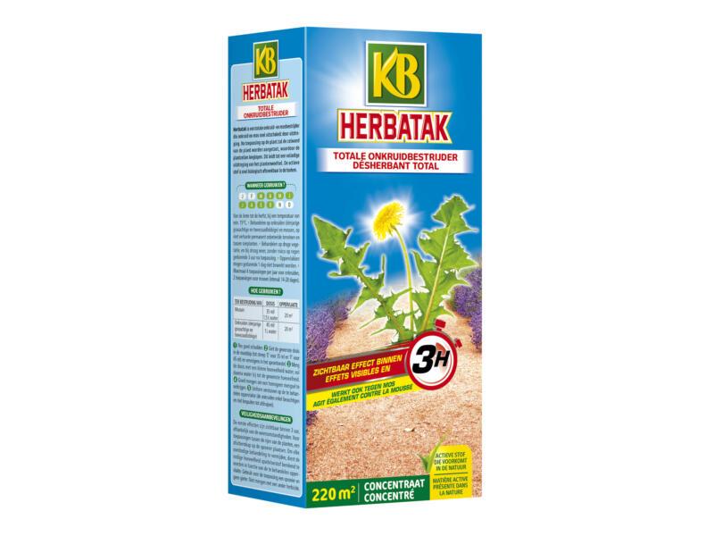 Herbatak anti-onkruid & anti-mos 500ml