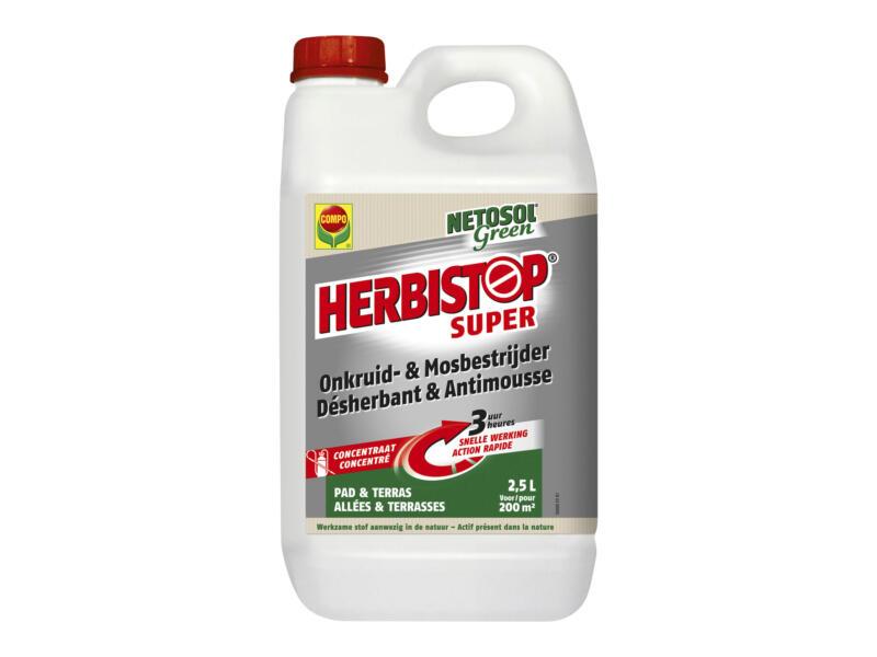 Compo Herbistop Super anti-onkruid & anti-mos terrassen en paden 2,5l