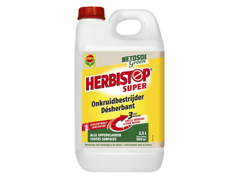 Compo Herbistop Super désherbant toutes surfaces 2,5l