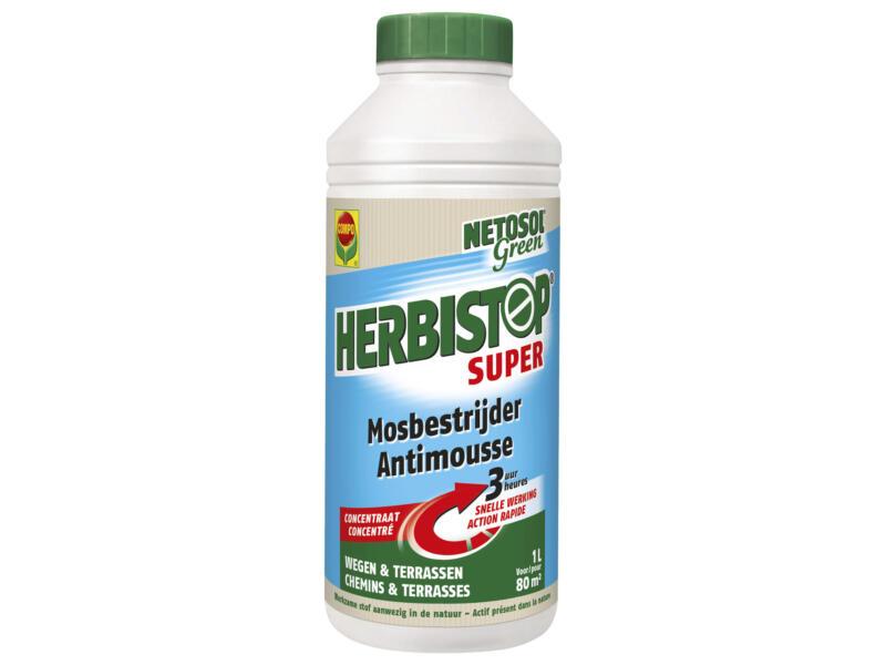 Compo Herbistop Super mosbestrijder 1l