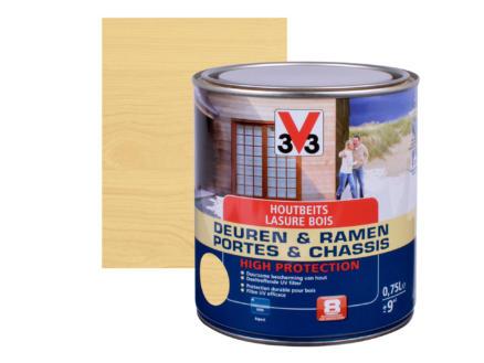 V33 High Protection houtbeits ramen & deuren zijdeglans 0,75l kleurloos