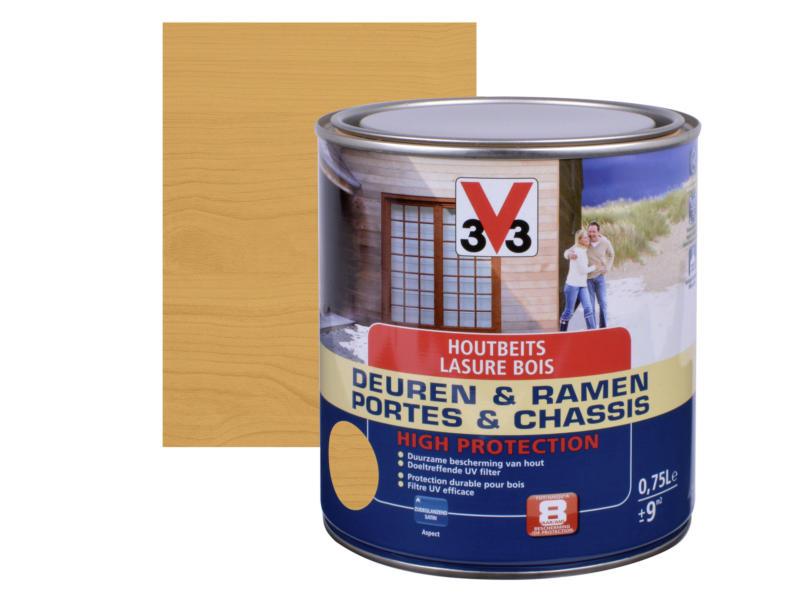 V33 High Protection houtbeits ramen & deuren zijdeglans 0,75l noorse den