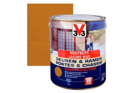 V33 High Protection houtbeits ramen & deuren zijdeglans 2,5l lichte eik