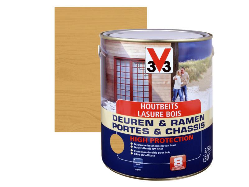 V33 High Protection houtbeits ramen & deuren zijdeglans 2,5l noorse den