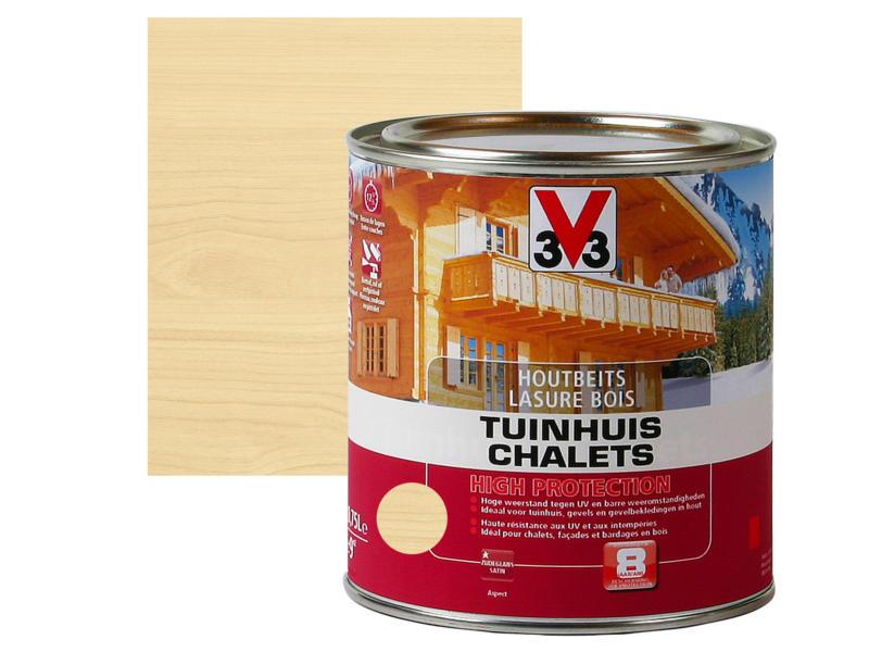 V33 High Protection houtbeits tuinhuis zijdeglans 0,75l kleurloos