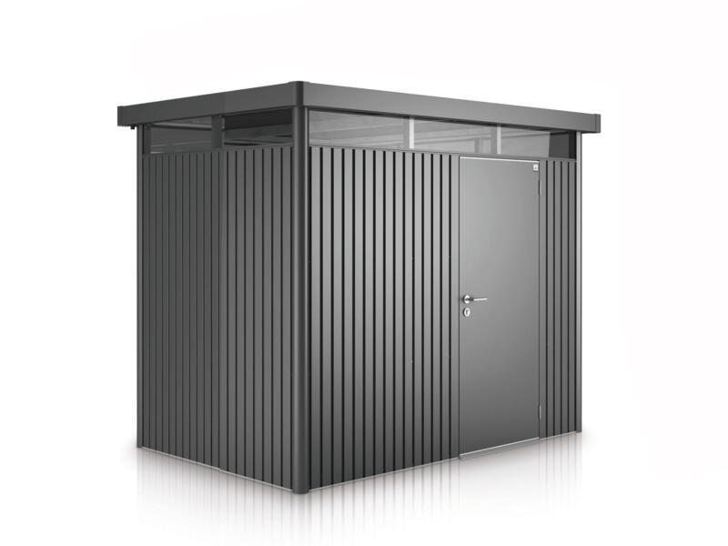 Biohort HighLine H3 tuinhuis 275x235x222 cm metaal donkergrijs metallic