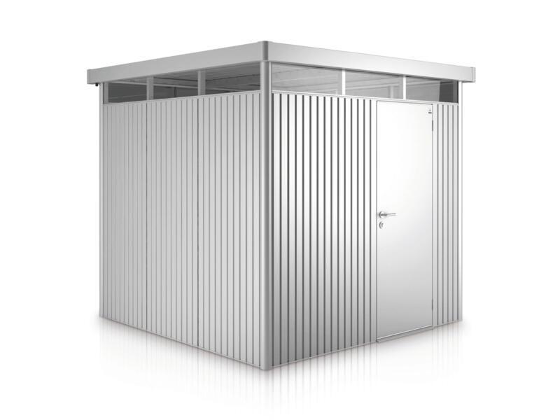 Biohort HighLine H5 abri de jardin 275x315x222 cm métal argent métallique