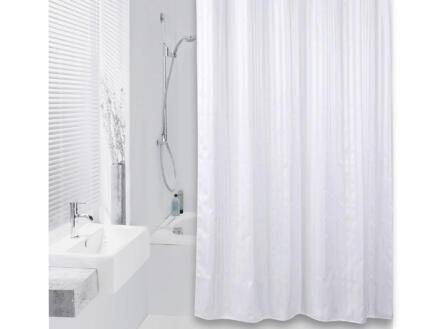 Differnz Hilton rideau de douche 180x200 cm blanc