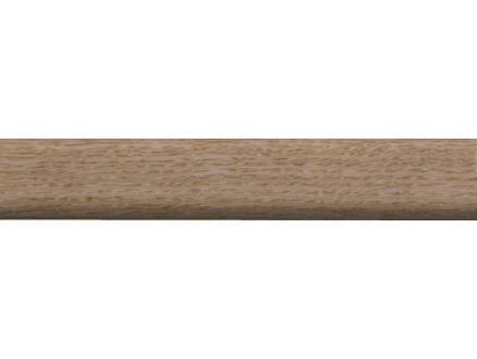 Hoeklat 23x23 mm 240cm eiken fineer