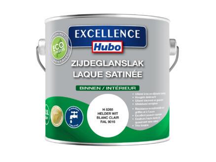 Hubo Excellence lak zijdeglans 2,5l helder wit