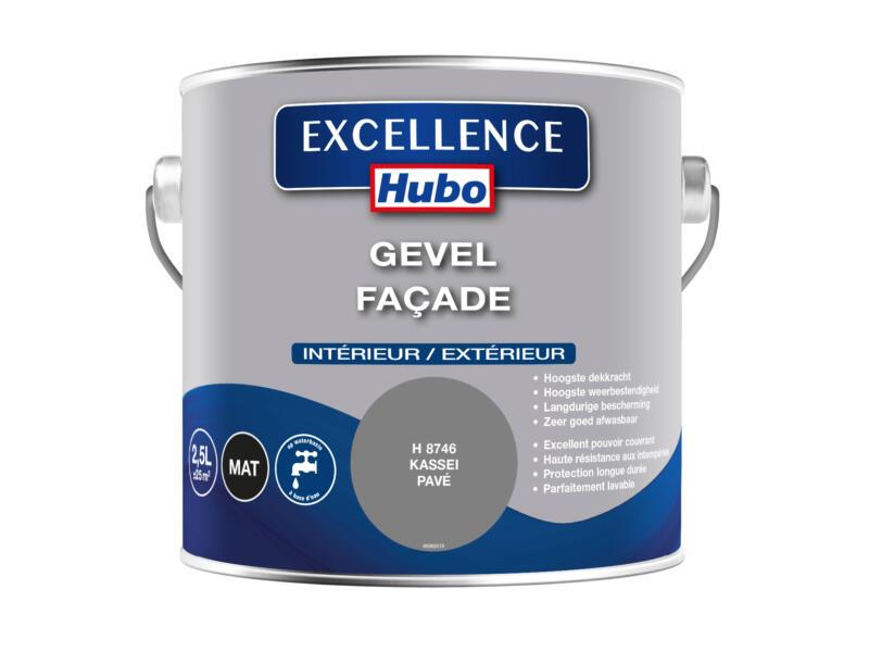 Hubo Excellence peinture façade 2,5l pavé