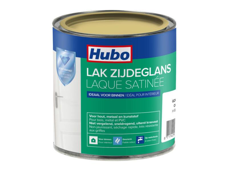 Hubo acryllak zijdeglans 0,25l goud